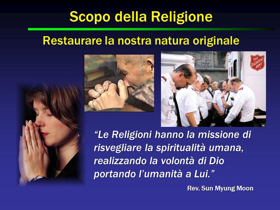 """""""Le Religioni hanno la missione di risvegliare la spiritualità umana, realizzando la volontà di Dio portando l'umanità a Lui."""" Scopo della Religione R"""