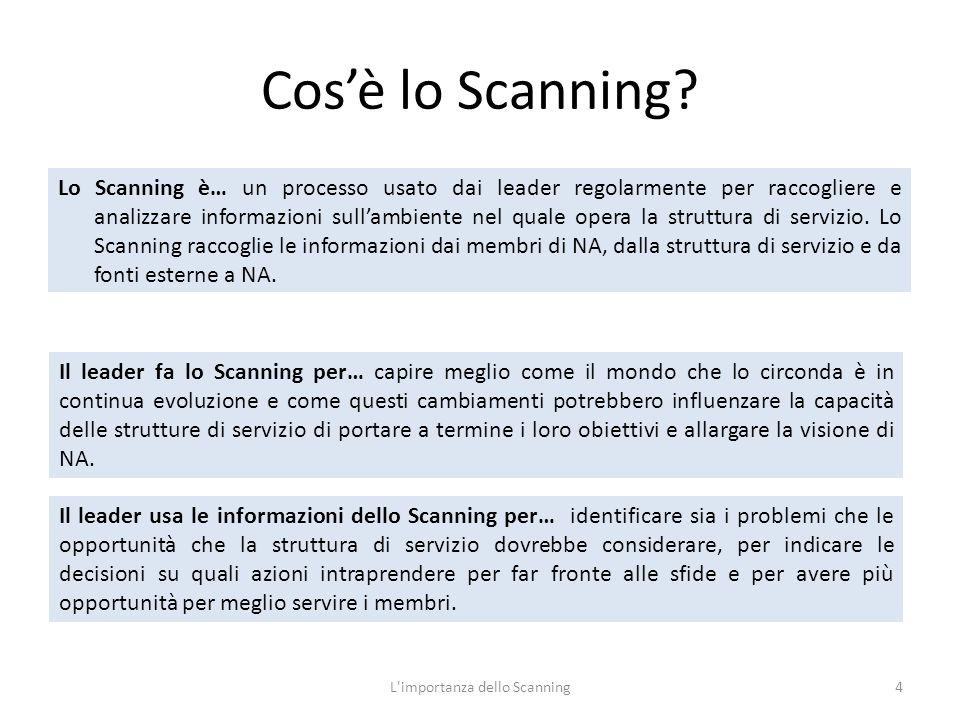 Cos'è lo Scanning.
