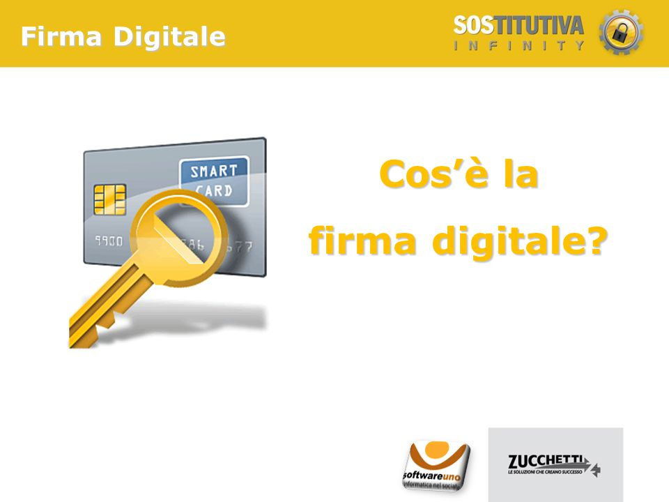 Firma Digitale Cos'è la firma digitale?