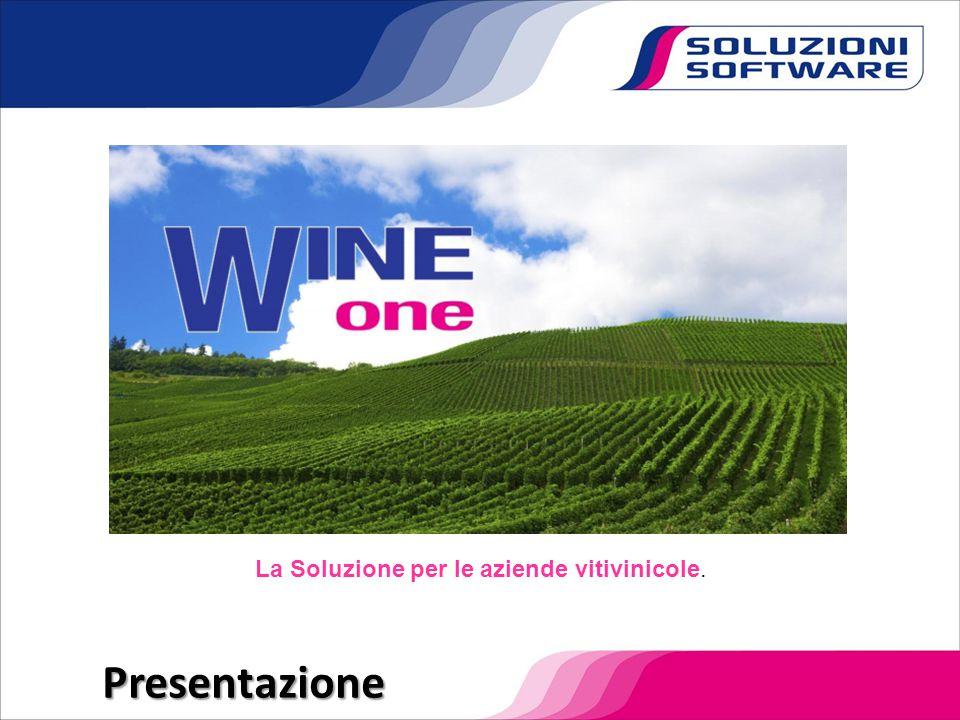 Presentazione La Soluzione per le aziende vitivinicole.
