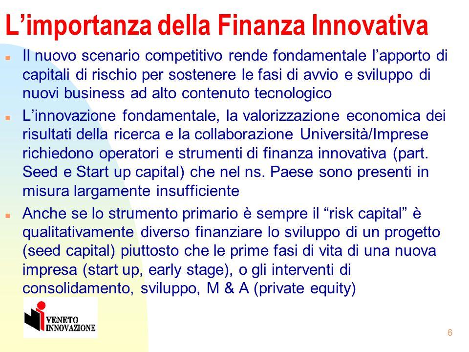 """5 Gli ostacoli all'avvio di start up tecnologiche in Italia n Cultura imprenditoriale """"atipica"""" rispetto ai modelli prevalenti n Legami """"deboli"""" fra r"""