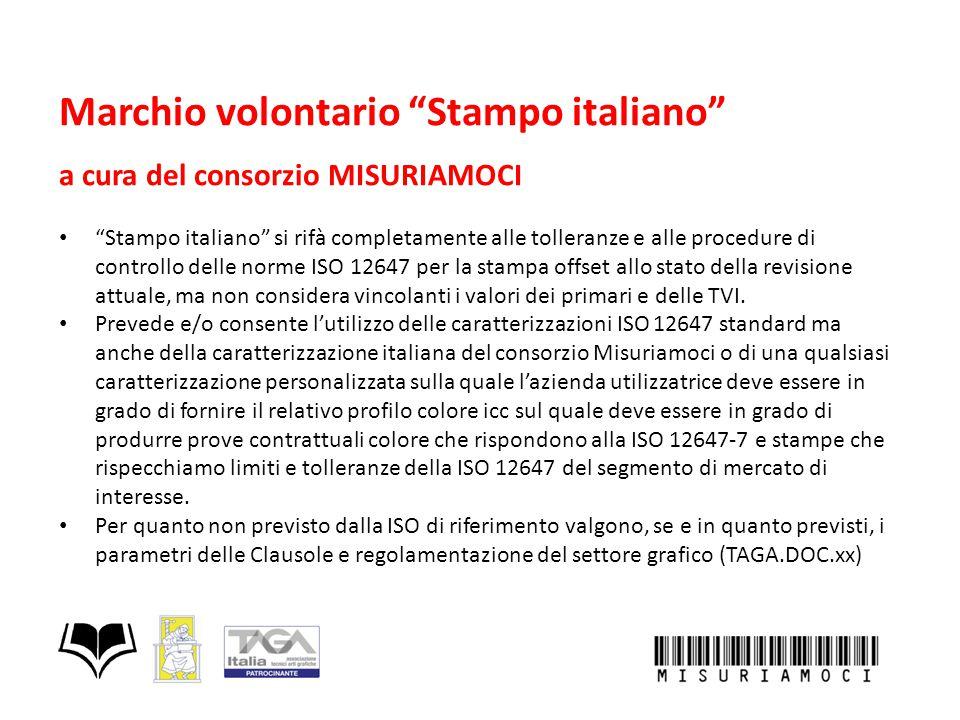 """Marchio volontario """"Stampo italiano"""" a cura del consorzio MISURIAMOCI """"Stampo italiano"""" si rifà completamente alle tolleranze e alle procedure di cont"""