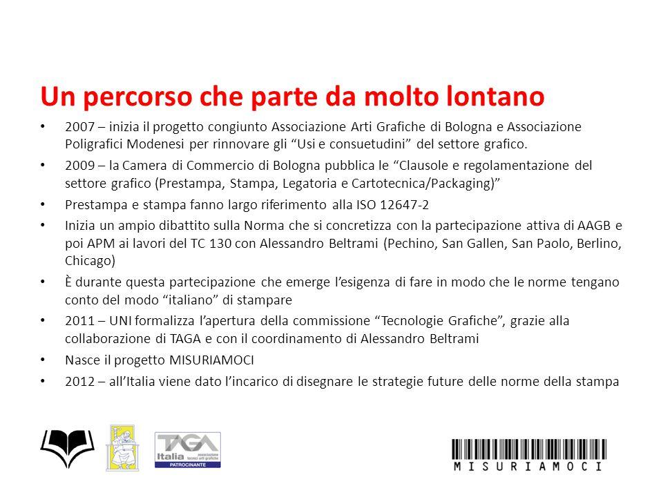 Un percorso che parte da molto lontano 2007 – inizia il progetto congiunto Associazione Arti Grafiche di Bologna e Associazione Poligrafici Modenesi p