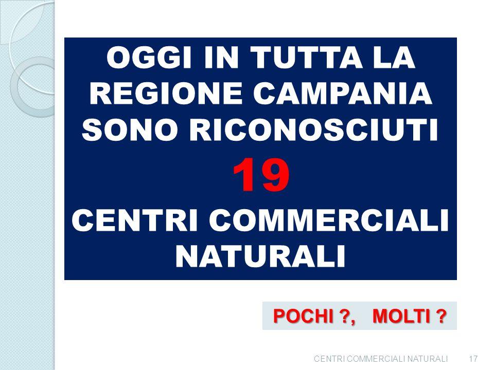"""CENTRI COMMERCIALI NATURALI16 DECRETO DIRIGENZIALE 1029 LINEA DI AZIONE """"B"""""""