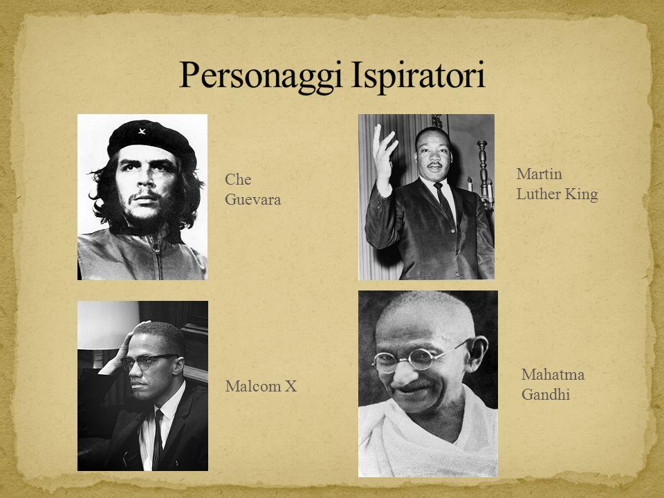 Che Guevara Martin Luther King Malcom X Mahatma Gandhi