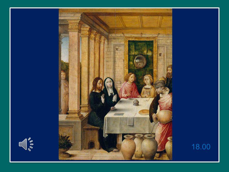 L'evangelista Giovanni, all'inizio del suo Vangelo, narra l'episodio delle nozze di Cana, a cui erano presenti la Vergine Maria e Gesù, con i suoi primi discepoli.