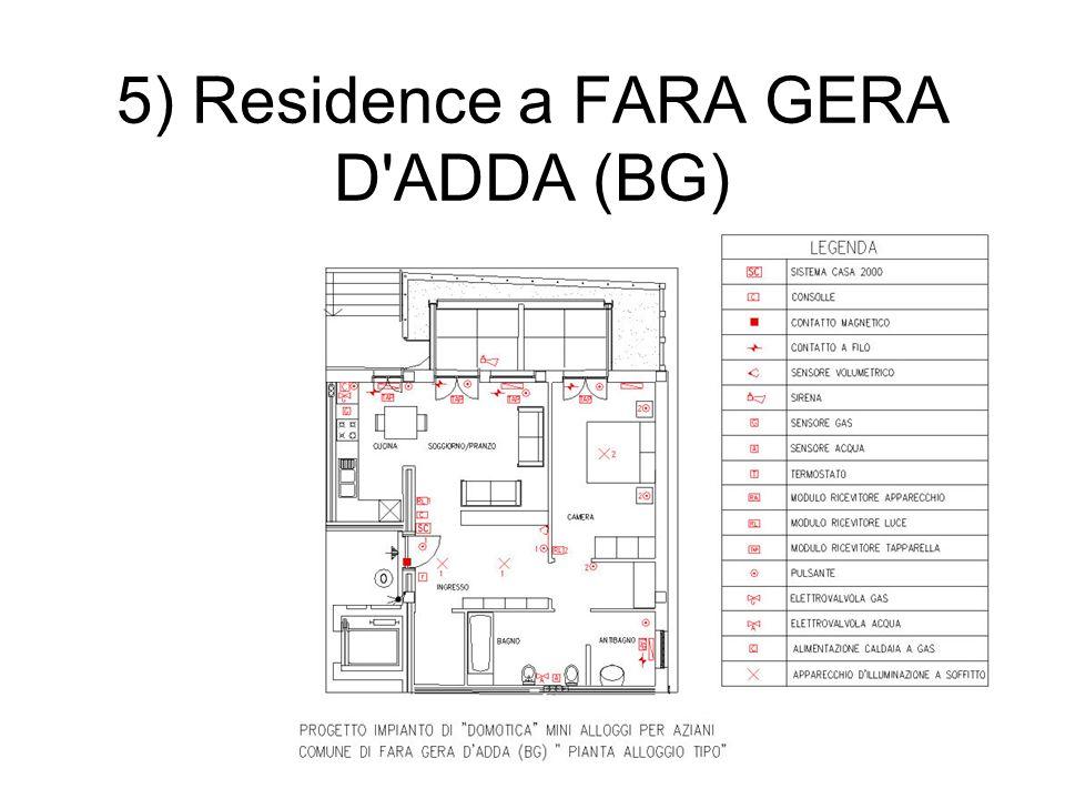 5) Residence a FARA GERA D'ADDA (BG)