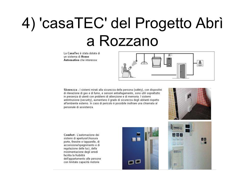 4) 'casaTEC' del Progetto Abrì a Rozzano