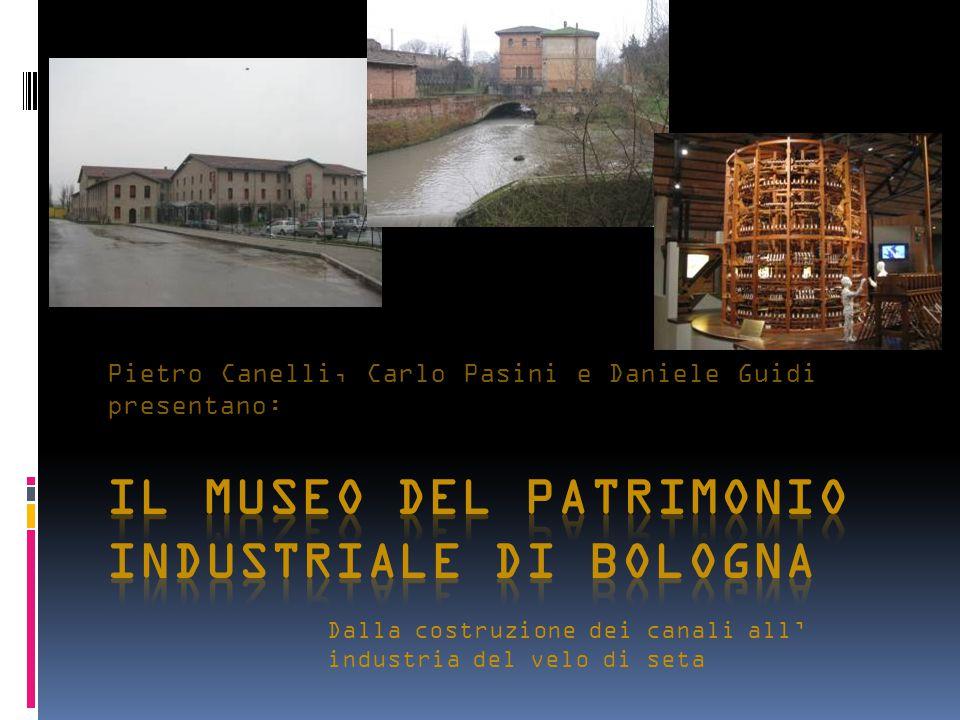 Pietro Canelli, Carlo Pasini e Daniele Guidi presentano: Dalla costruzione dei canali all' industria del velo di seta