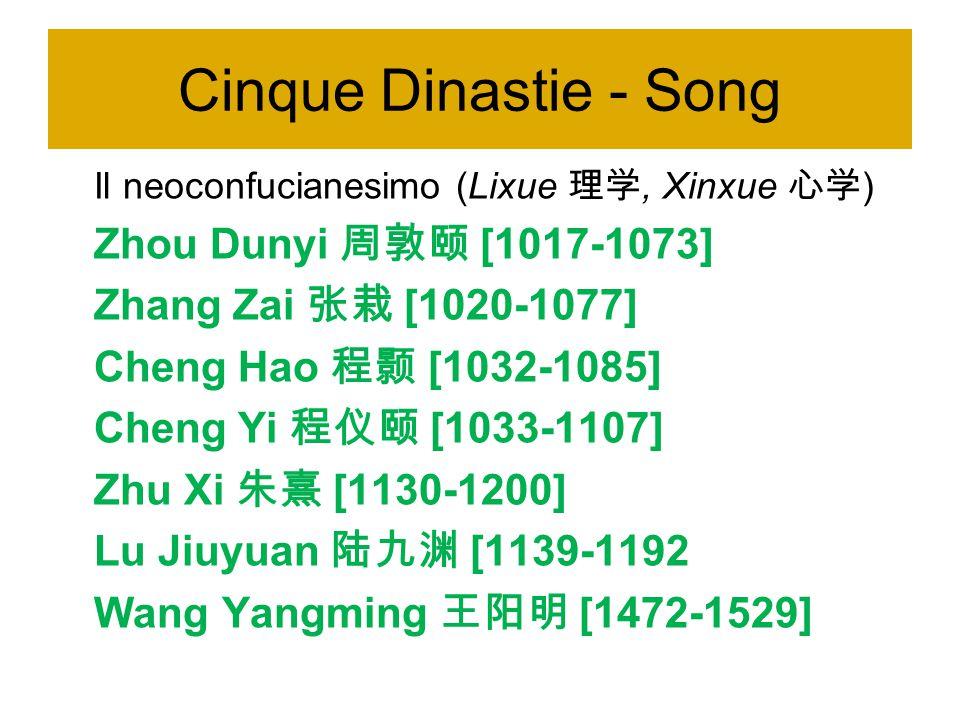 阮元 [1764-1849] Shishanjing zhushu 《十三经注疏》 I Tredici Classici commentati Huangqing jingjie 《皇清经解》 Interpetazione dei Classici degli Augusti Qing