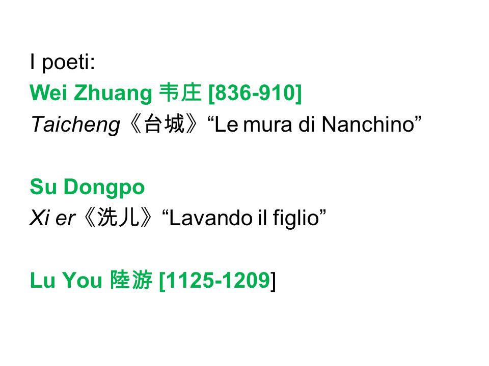 Il biji 笔记 Note col pennello Yuan Mei 袁枚 [1716-1797] Zi bu yu 《子不语》 Ciò che il Maestro non disse Pu Songling 蒲松龄 [1690-1715] Liaozhai zhiyi 《聊斋志异》