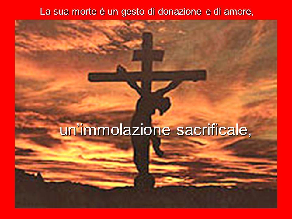 Gesù di Nazareth si rivela Figlio di Dio nella sua morte di croce.