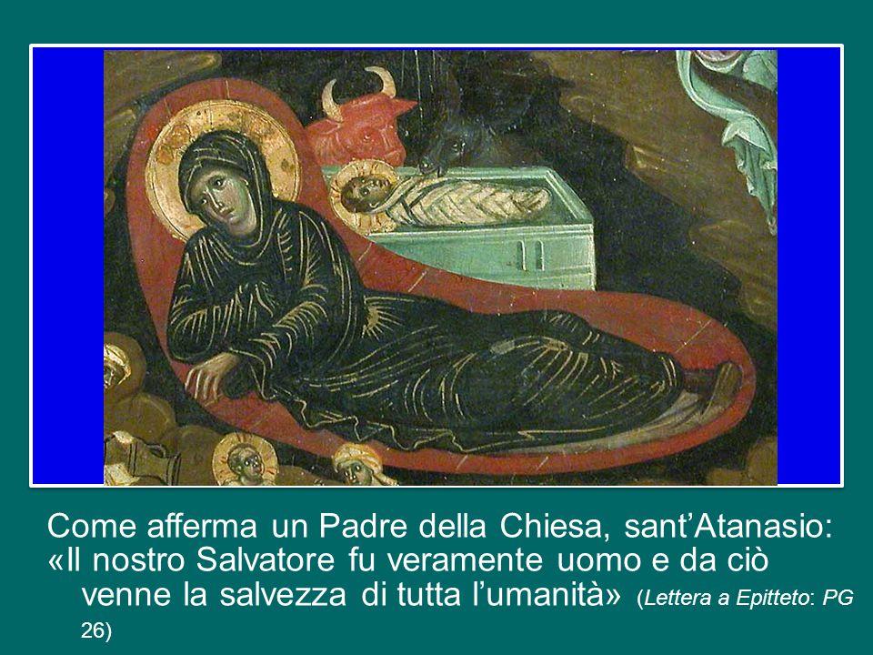 Oggi ascoltiamo le parole dell'apostolo Paolo: «Dio mandò suo Figlio, nato da donna» (Gal 4,4). Quel «nato da donna» dice in maniera essenziale e per