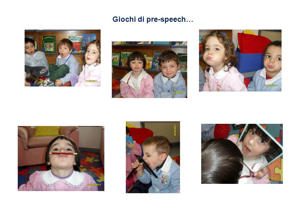 Giochi di pre-speech…