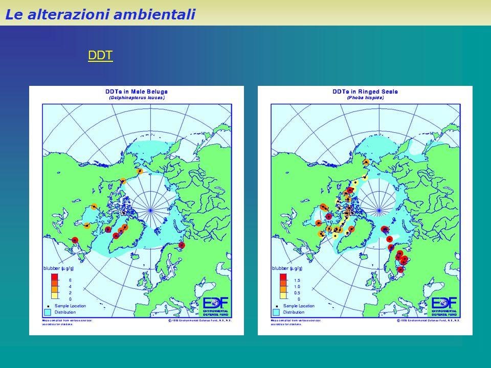 Le alterazioni ambientali DDT
