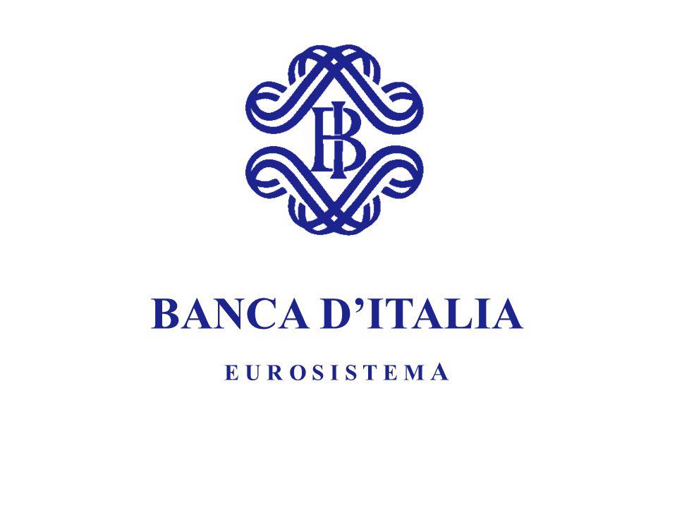 BANCA D'ITALIA E U R O S I S T E M A