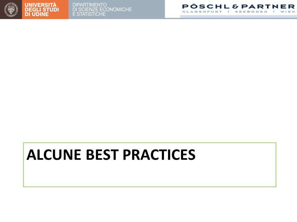 ALCUNE BEST PRACTICES