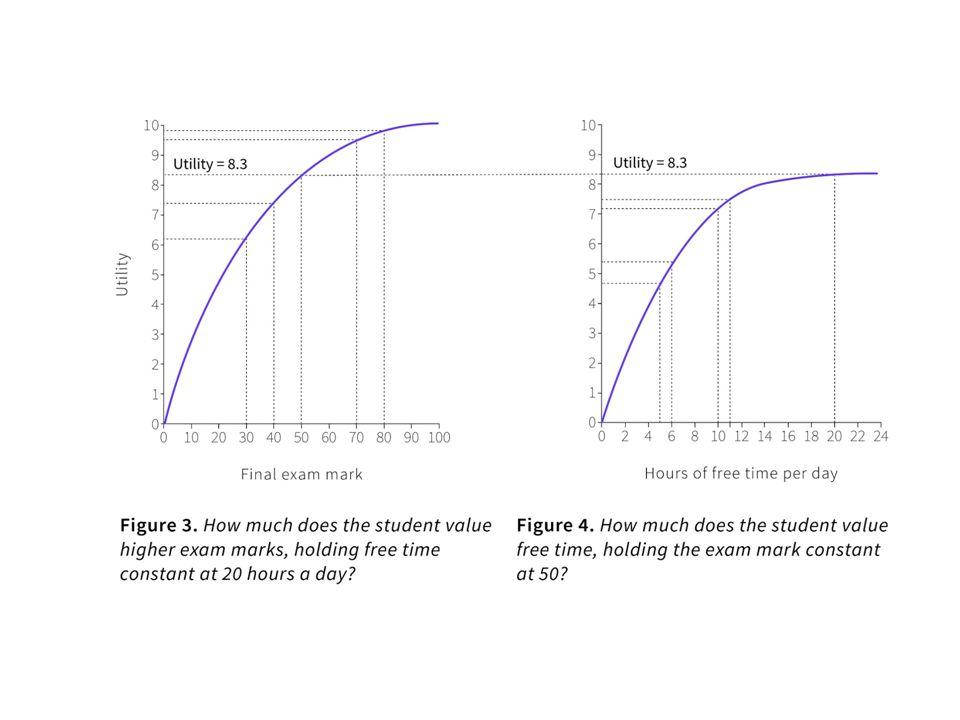 3. Trade-offs (insieme del consumo possibile e curve di indifferenza)