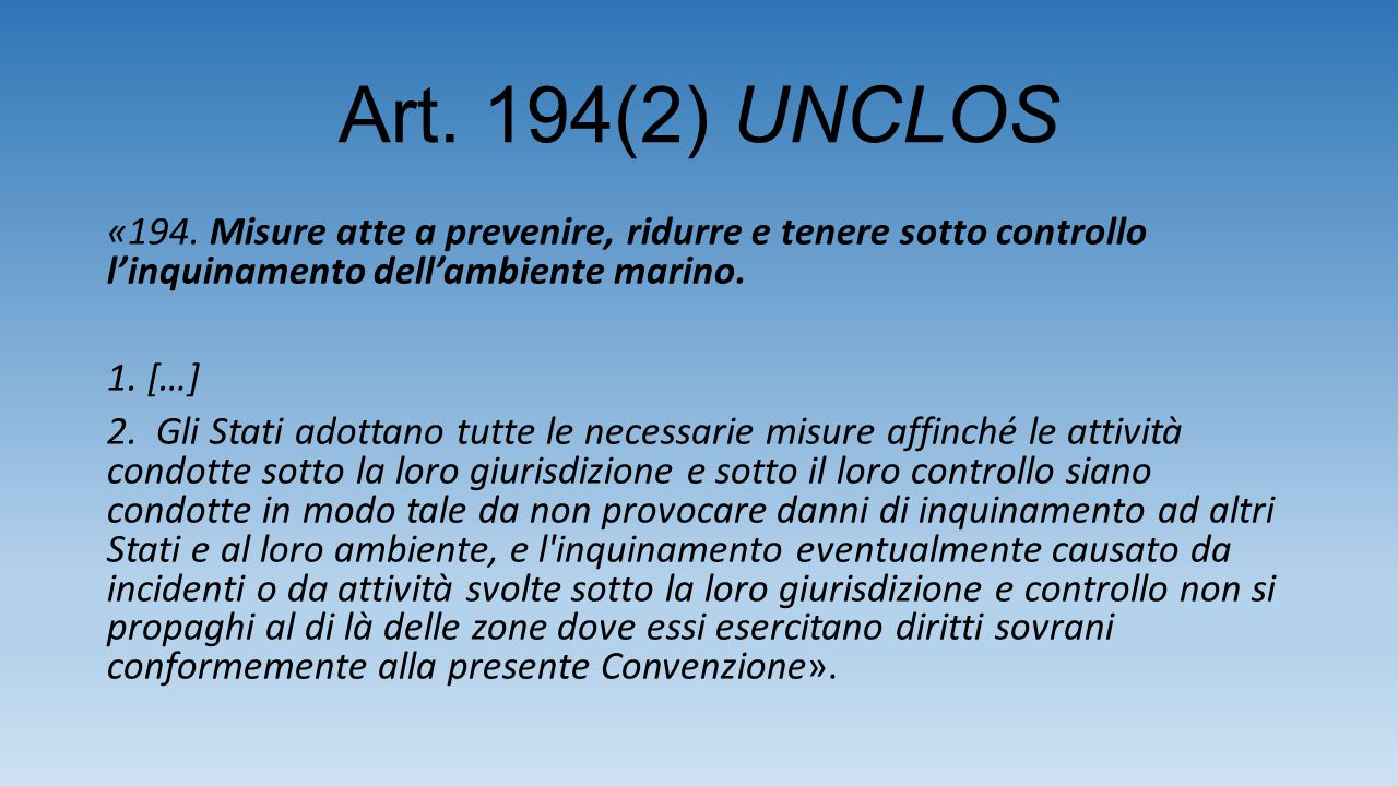 Art. 194(2) UNCLOS «194.