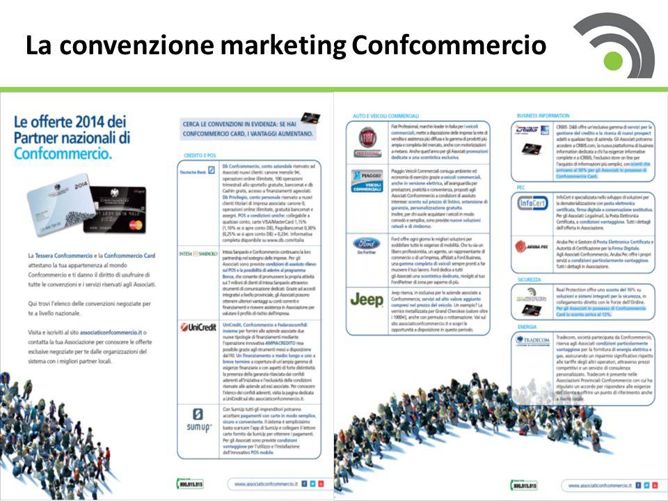 5 La convenzione marketing Confcommercio