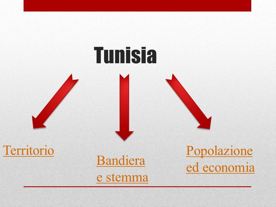 Tunisia Territorio Bandiera e stemma Popolazione ed economia