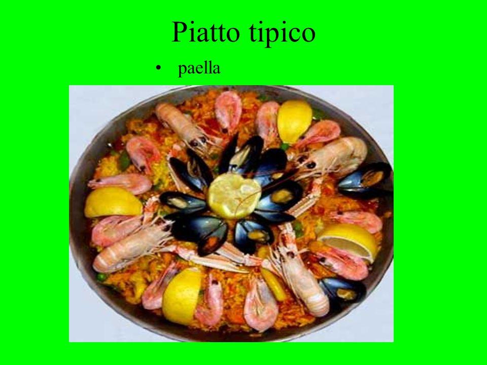 Piatto tipico paella