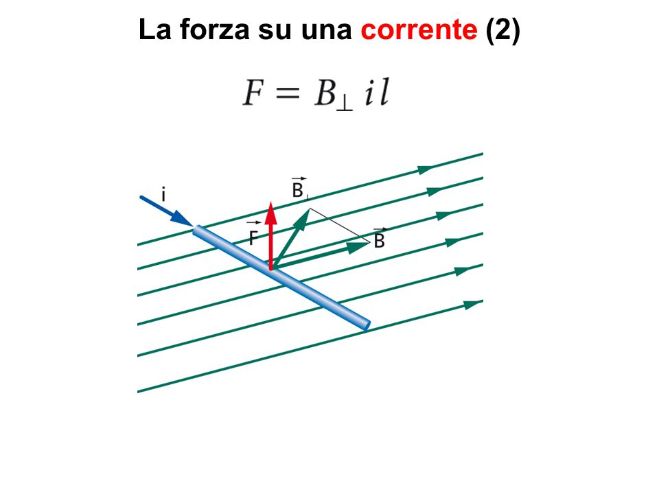 La forza su una corrente (2)