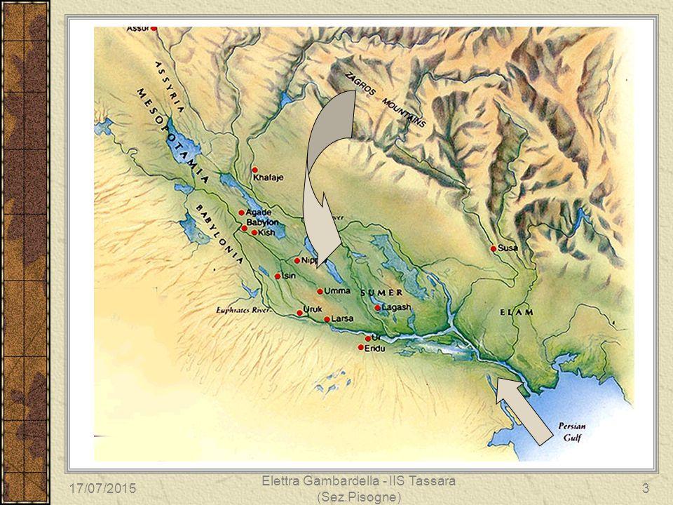 Storia dei Sumeri Durata di 1000 anni della prima civiltà sumerica Fine nel 2334 a.C.