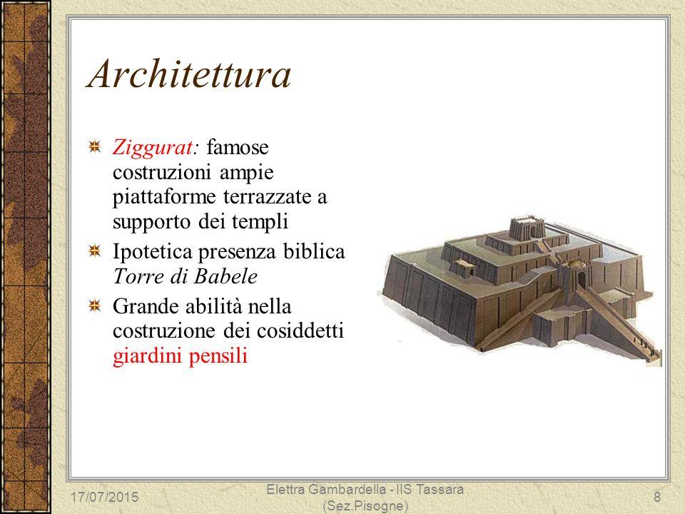 Architettura Ziggurat: famose costruzioni ampie piattaforme terrazzate a supporto dei templi Ipotetica presenza biblica Torre di Babele Grande abilità