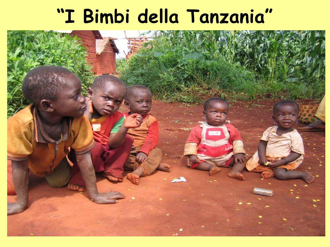 I Bimbi della Tanzania
