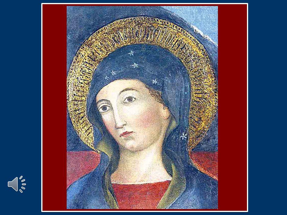 Cari fratelli e sorelle, ci rivolgiamo ora alla Vergine Maria, invocandola quale Regina Caeli, Regina del Cielo.
