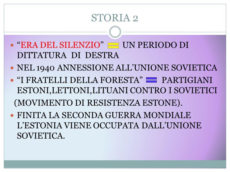 STORIA 3 LA FORZATA RUSSIFICAZIONE E LA SPERSONALIZZAZIONE DELLA CULTURA ESTONE.