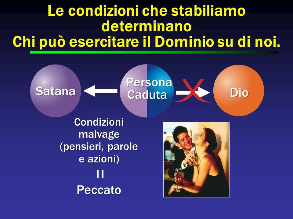 Condizione di Sostanza  Superare i risentimenti passati per sanare le relazioni.