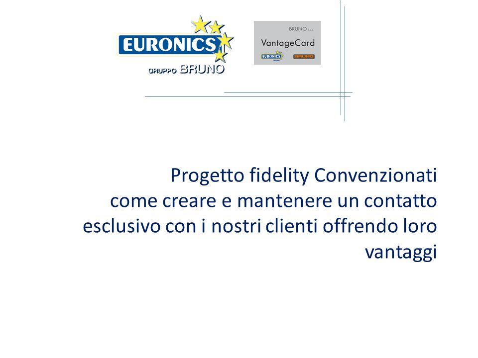 Progetto fidelity Convenzionati come creare e mantenere un contatto esclusivo con i nostri clienti offrendo loro vantaggi