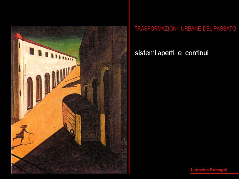 TRASFORMAZIONI URBANE DEL PASSATO sistemi aperti e continui Ludovico Romagni