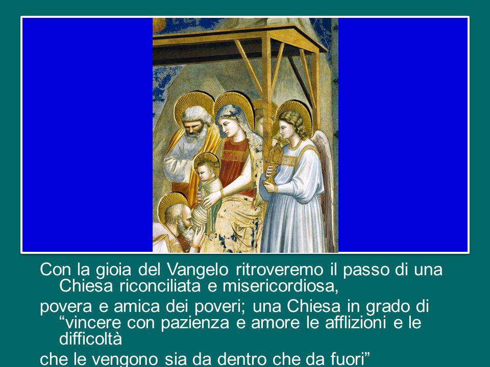 A quel punto le tre cose: il nostro ascolto e il nostro confronto sulla famiglia, amata con lo sguardo di Cristo, diventeranno un'occasione provvidenziale con cui rinnovare - sull'esempio di San Francesco - la Chiesa e la società.