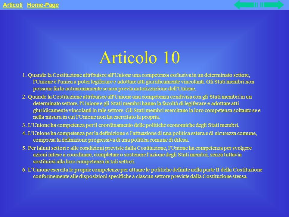 Articolo 10 1.