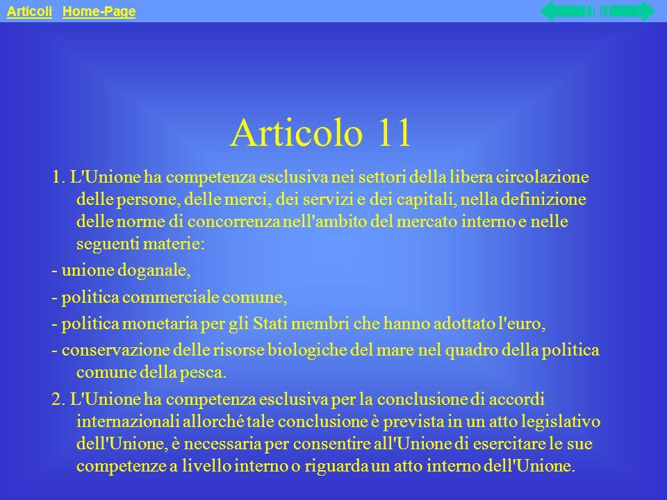 Articolo 11 1.
