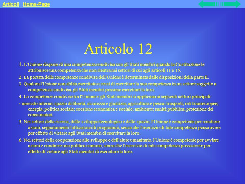 Articolo 12 1.