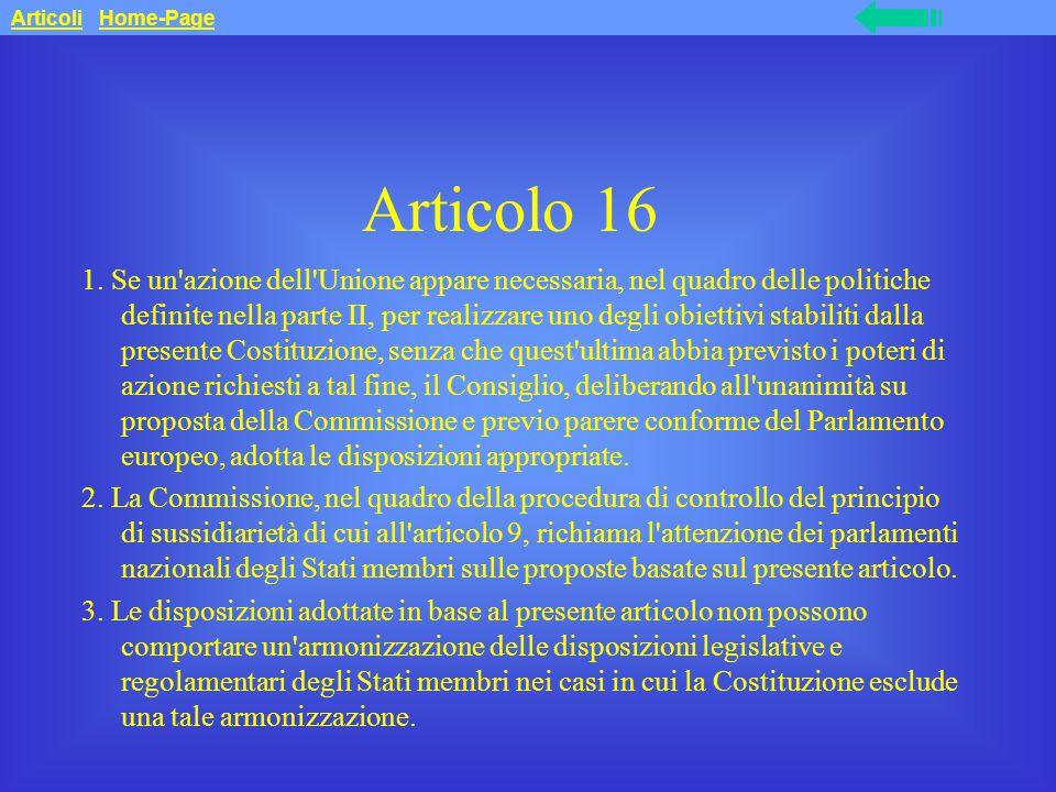 Articolo 16 1.