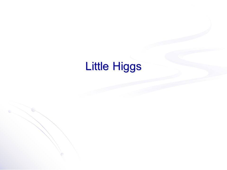 Little Higgs