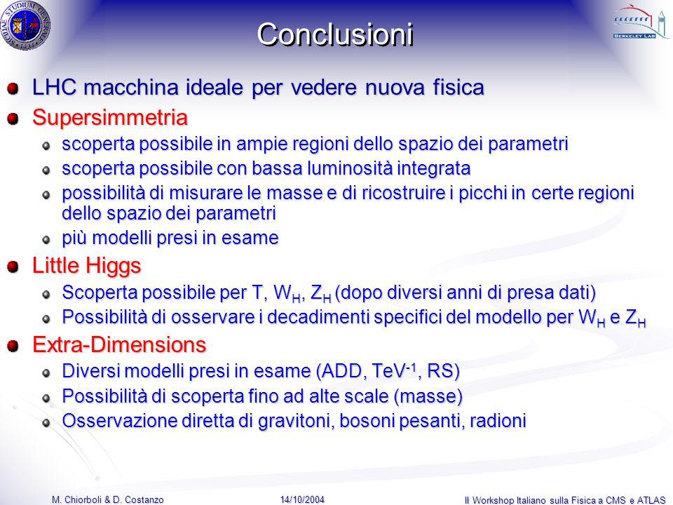 14/10/2004 M. Chiorboli & D.