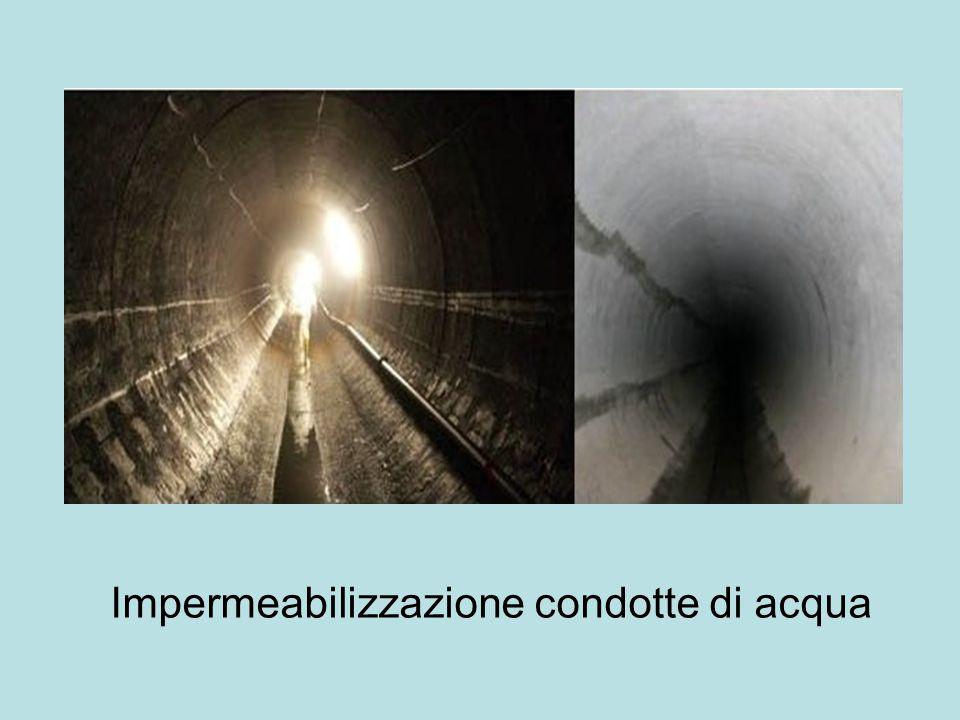 Impermeabilizzazione condotte di acqua