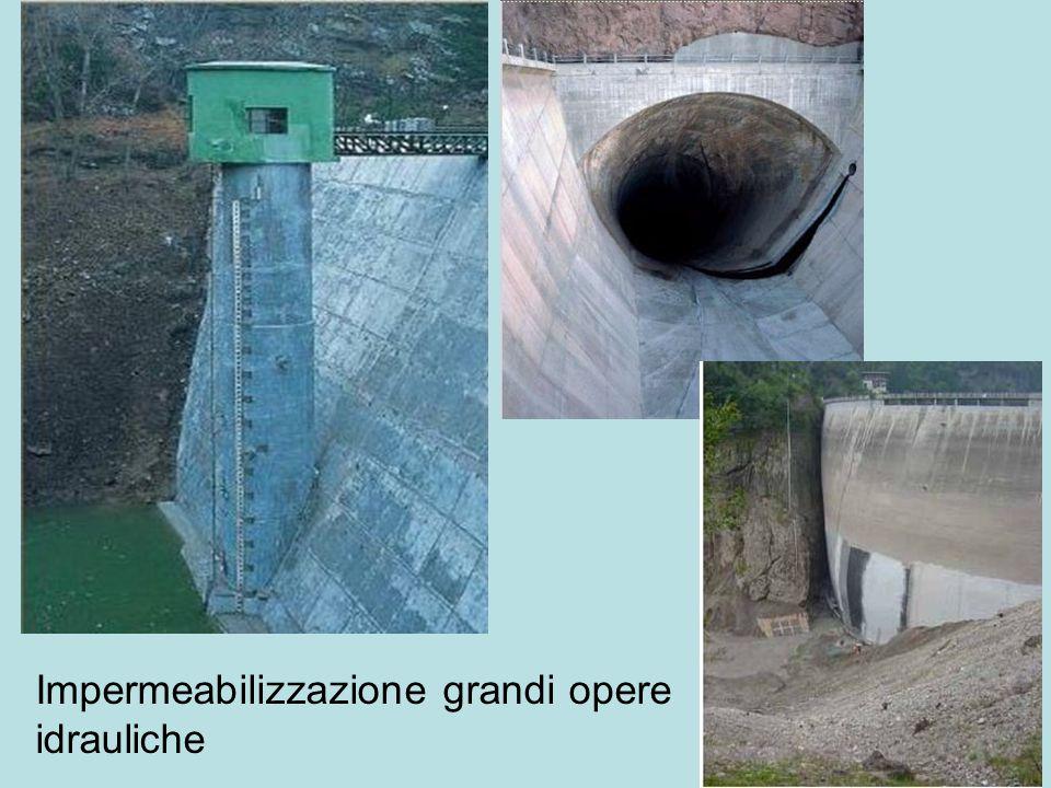 Impermeabilizzazione grandi opere idrauliche