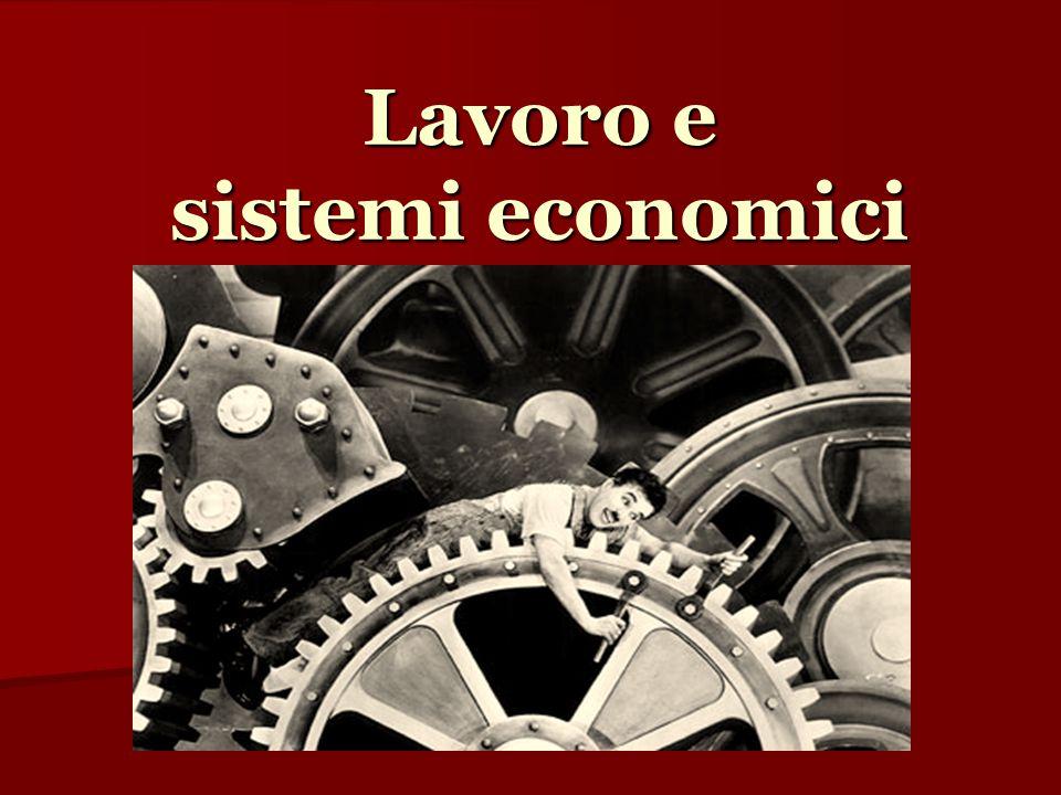 Lavoro e sistemi economici