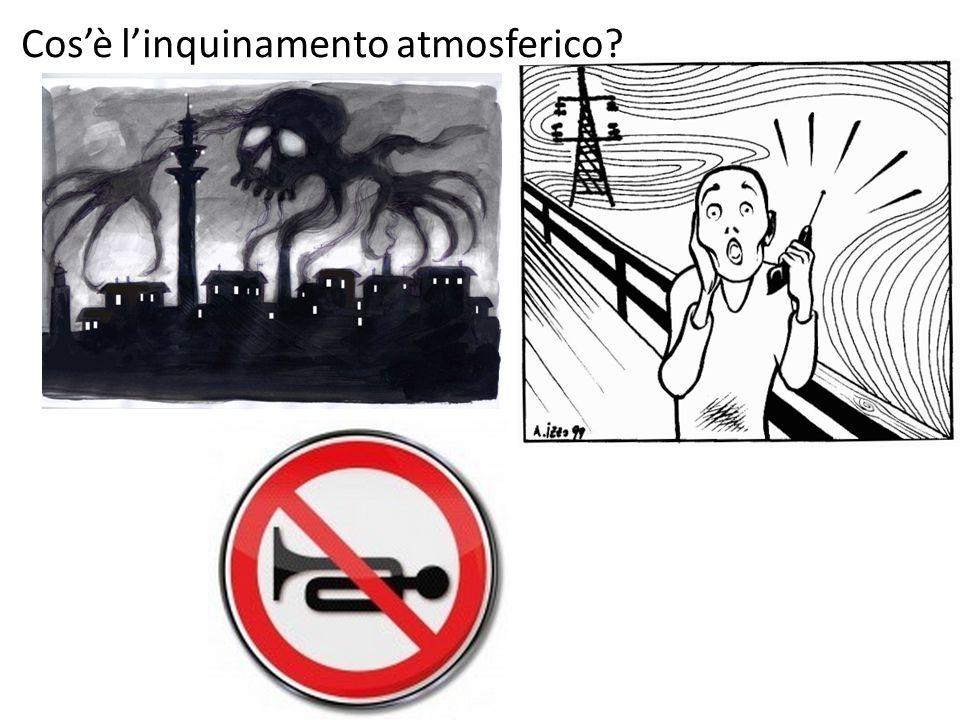Cos'è l'inquinamento atmosferico?