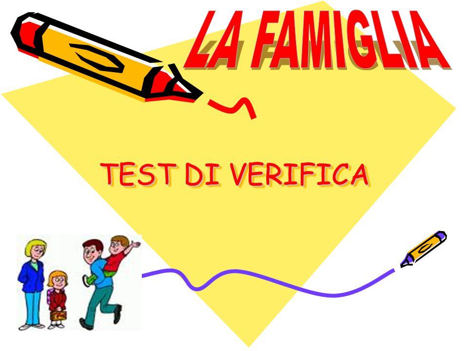TEST DI VERIFICA