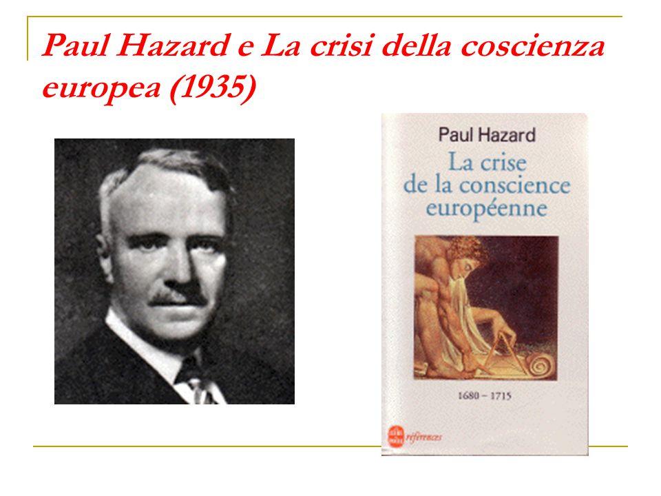 Paul Hazard e La crisi della coscienza europea (1935)