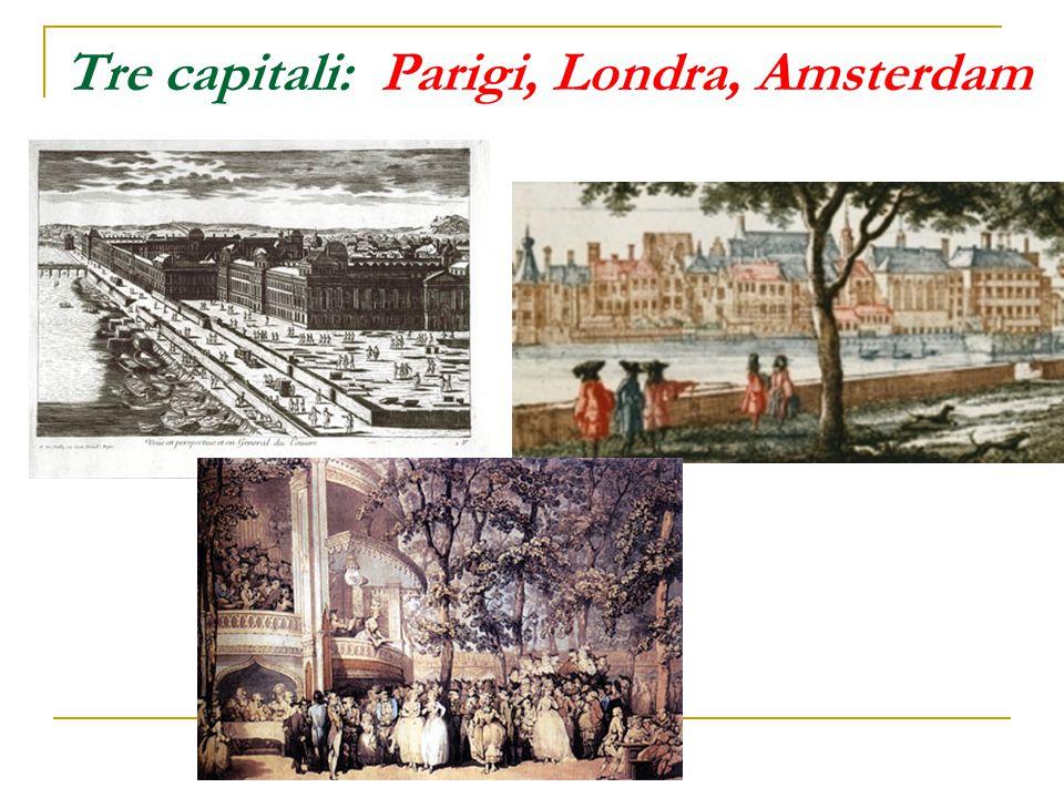 Tre capitali: Parigi, Londra, Amsterdam