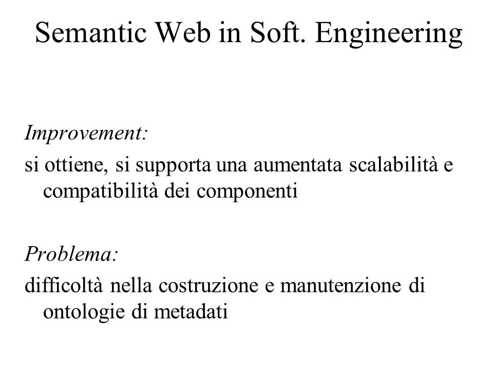Semantic Web in Soft.